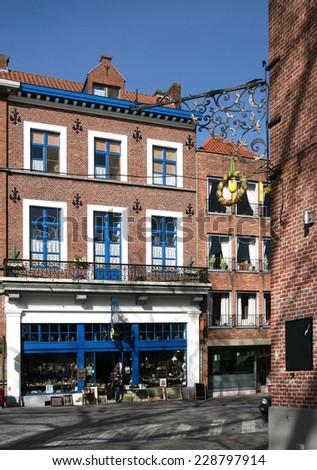 historic buildings, Bruges, Belgium, Europe,  - stock photo