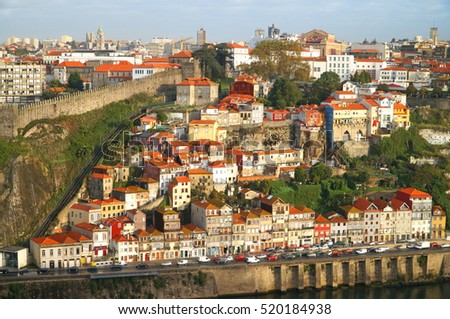 Historic city centre. Porto, Portugal.
