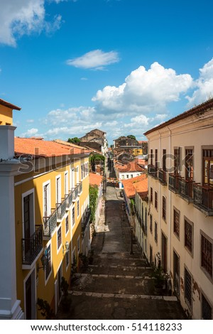 Historic city of Sao Luis, Maranhao State, Brazil