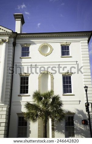 Historic Courthouse in Charleston, South Carolina - stock photo
