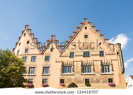 Historic old town hall of Ulm (Germany)