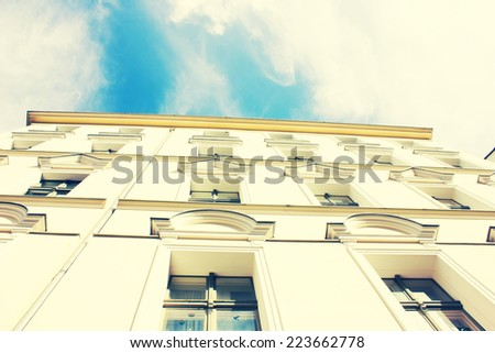 Historic Residential House in Berlin, Germany - stock photo