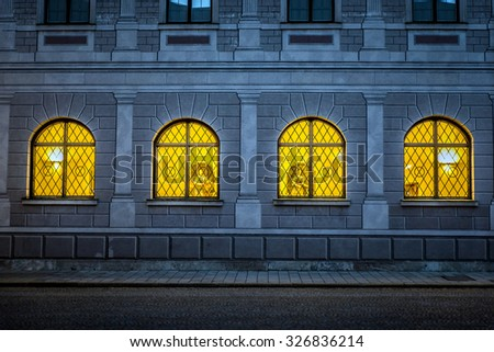 "Historic ""Residenz"" building, Munich, Germany. - stock photo"