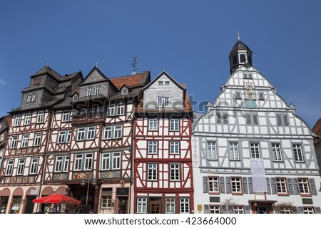 historic town butzbach germany