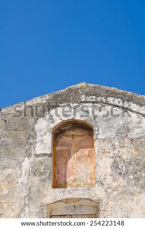 Historical church. Laterza. Puglia. Italy. - stock photo