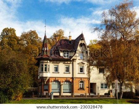 Historical House Villa in the City of Tuttlingen in Baden Wurttemberg