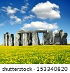 Historical monument Stonehenge,England, UK - stock photo