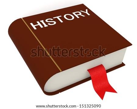 History book - stock photo