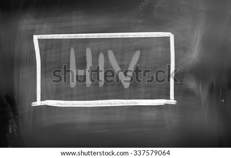 HIV/AIDS Concept - stock photo