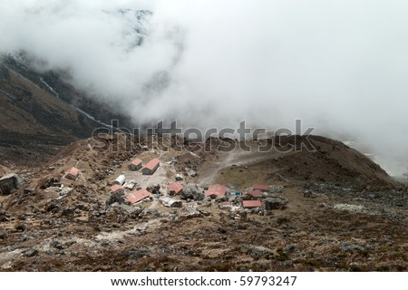 HMI Base Camp, Bikbari, Kanchenjunga National Park, Sikkim, Himalaya, India