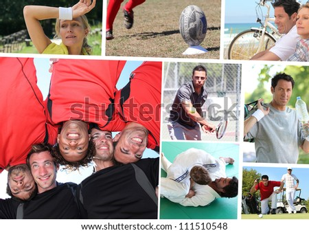 Hobbies - stock photo