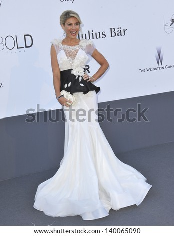 Hofit Golan at amfAR's 20th Cinema Against AIDS Gala at the Hotel du Cap d'Antibes, France May 23, 2013  Antibes, France