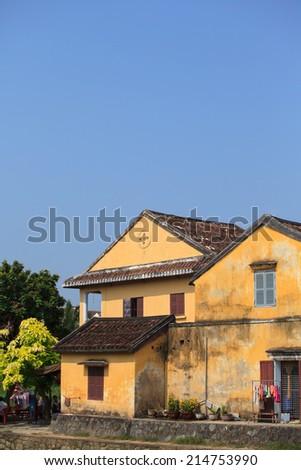 Hoi An acient town  - stock photo