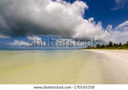 holbox island, Yucatan peninsula, Quintana Roo Mexico. Riviera Maya. - stock photo