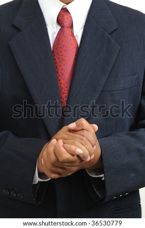 hold close of business hands