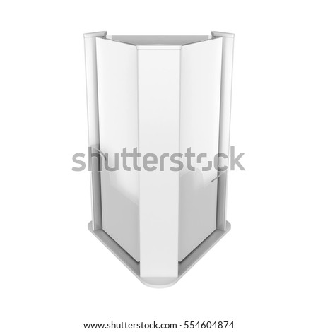 Holder Isolated on White Background, 3D rendering