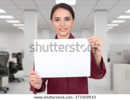 Holding. - stock photo