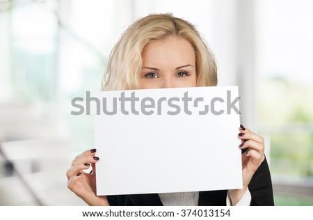 Holding. - stock photo
