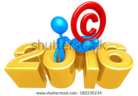 Holding Copyright With Year