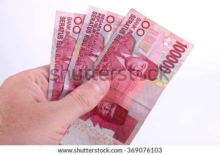 Holding Indonesian Rupiah