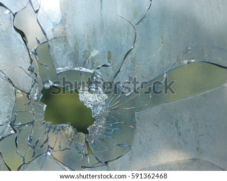 how to stop a crack in glass from spreading