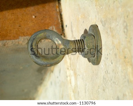 Holed screw