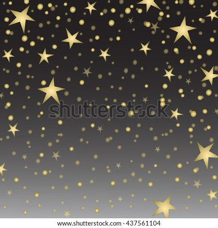 Holiday background, pattern with stars, star pattern, star decorations.