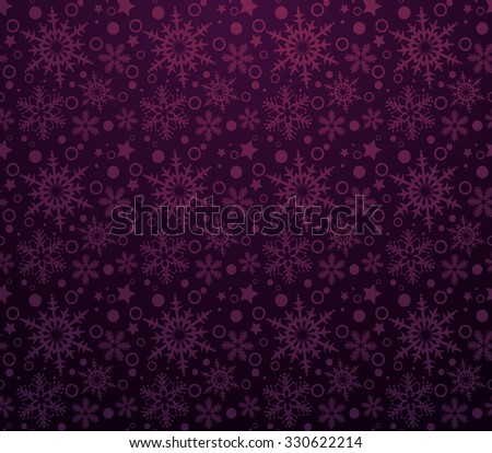 Holiday Background, Snowflake Abstract Background, Snowflake Pattern, snowflake background, snowflake template, snowflake designs, snowflake decorations, Christmas Decoration, Purple Background - stock photo