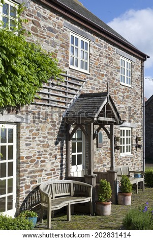 Holiday cottage in Cornwall, England