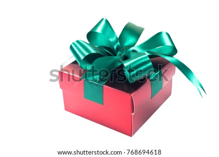 Holiday gift boxes. Birthday, party or New Year,clipping paths