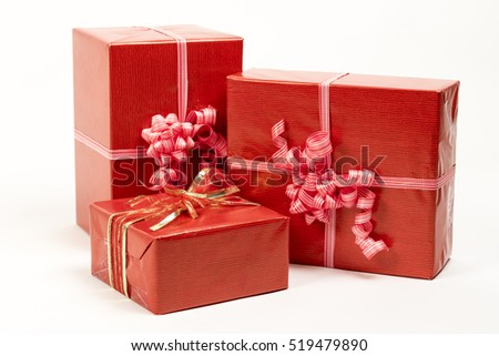 stock-photo-holiday-gift-boxes-decorated