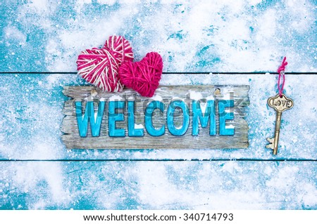 Image result for winter welcome
