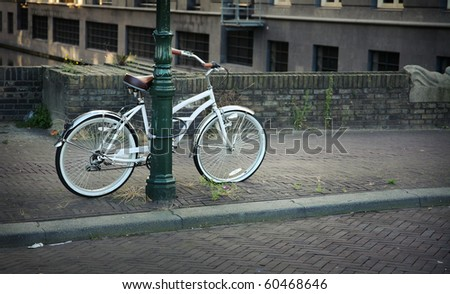 Holland bike - stock photo