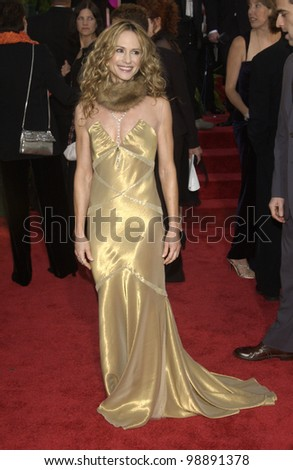 HOLLY HUNTER at the 61st Annual Golden Globe Awards at the Beverly Hilton Hotel, Beverly Hills, CA. January 25, 2004