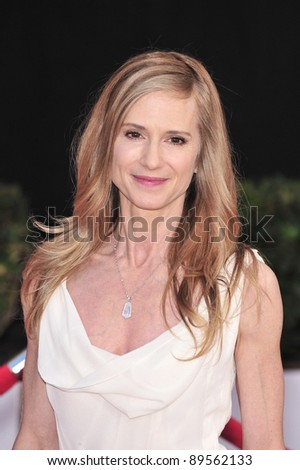 Holly Hunter at the 14th Annual Screen Actors Guild Awards at the Shrine Auditorium, Los Angeles, CA. January 27, 2008  Los Angeles, CA. Picture: Paul Smith / Featureflash