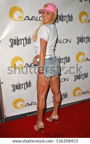 HOLLYWOOD - APRIL 30: Mary Carey at the Larpy Awards at Avalon on April 30, 2006 in Hollywood, CA.
