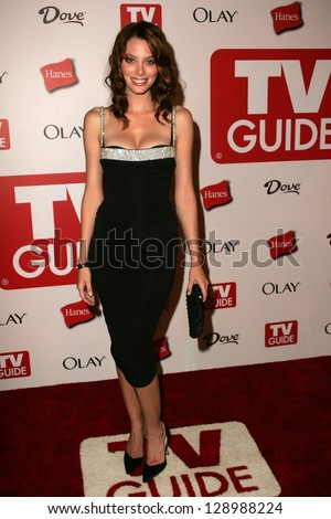 HOLLYWOOD - AUGUST 27: April Bowlby at the TV Guide Emmy After Party at Social August 27, 2006 in Hollywood, CA.