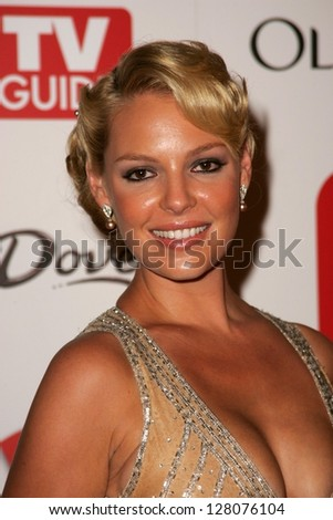 HOLLYWOOD - AUGUST 27: Katherine Heigl at the TV Guide Emmy After Party August 27, 2006 in Social, Hollywood, CA.