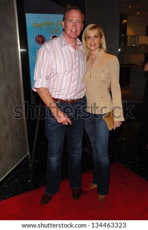 "HOLLYWOOD - AUGUST 01: Lee Majors and Faith Majors at the Los Angeles Premiere of ""Boynton Beach Club"" at Pacific Design Center on August 01, 2006 in West Hollywood, CA."