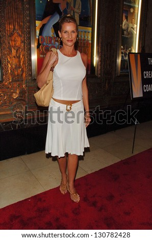 "HOLLYWOOD - AUGUST 15: Nicolette Sheridan at the Los Angeles Premiere of ""Dirty Rotten Scoundrels"" in Pantages Theatre August 15, 2006 in Hollywood, CA."