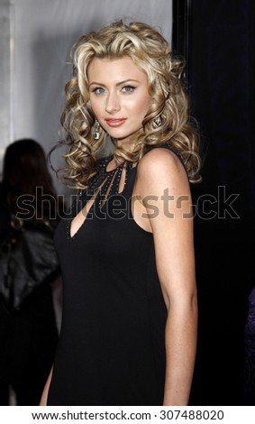 HOLLYWOOD, CA - DECEMBER 07, 2009: Alyson Aly Michalka at the Los Angeles premiere of 'The Lovely Bones' held at the Grauman's Chinese Theater in Hollywood, USA on December 7, 2009. - stock photo