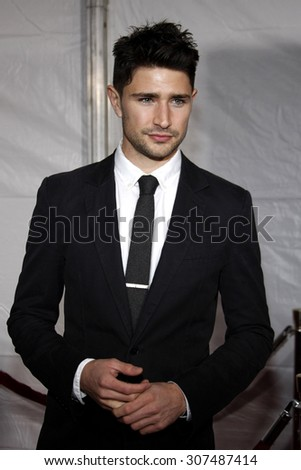 HOLLYWOOD, CA - DECEMBER 07, 2009: Matt Dallas at the Los Angeles premiere of 'The Lovely Bones' held at the Grauman's Chinese Theater in Hollywood, USA on December 7, 2009. - stock photo