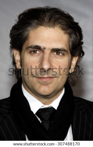 HOLLYWOOD, CA - DECEMBER 07, 2009: Michael Imperioli at the Los Angeles premiere of 'The Lovely Bones' held at the Grauman's Chinese Theater in Hollywood, USA on December 7, 2009. - stock photo