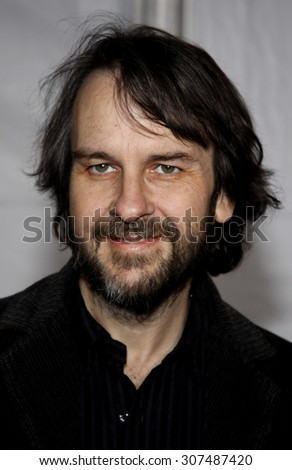 HOLLYWOOD, CA - DECEMBER 07, 2009: Peter Jackson at the Los Angeles premiere of 'The Lovely Bones' held at the Grauman's Chinese Theater in Hollywood, USA on December 7, 2009. - stock photo