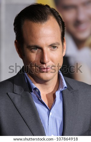HOLLYWOOD, CA - JAN 27: Will Arnett attends the When In Rome premiere on January 27th 2010 at the El Capitan Theatre in Hollywood, California.