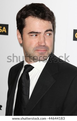 HOLLYWOOD, CA. - JANUARY 16: Ron Livingston attends the G'Day USA black tie gala on January 16, 2010 at Hollywood and Highland Grand Ballroom in Hollywood.