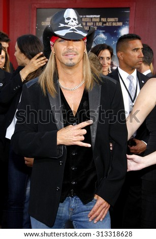 HOLLYWOOD, CA - JUNE 08, 2012: Bret Michaels at the Los Angeles premiere of 'Rock of Ages' held at the Grauman's Chinese Theatre in Hollywood, USA on June 8, 2012.