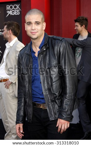 HOLLYWOOD, CA - JUNE 08, 2012: Mark Salling at the Los Angeles premiere of 'Rock of Ages' held at the Grauman's Chinese Theatre in Hollywood, USA on June 8, 2012.