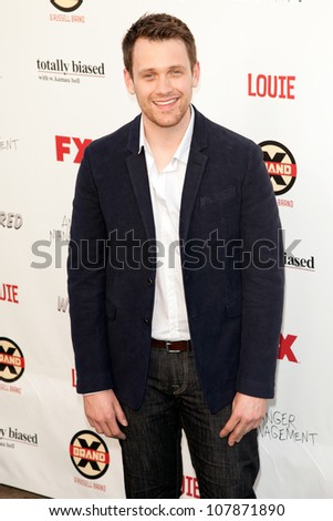 HOLLYWOOD, CA - JUNE 26: Michael Arden arrives at FX Summer Comedies party at Lure on June 26, 2012 in Hollywood, California.