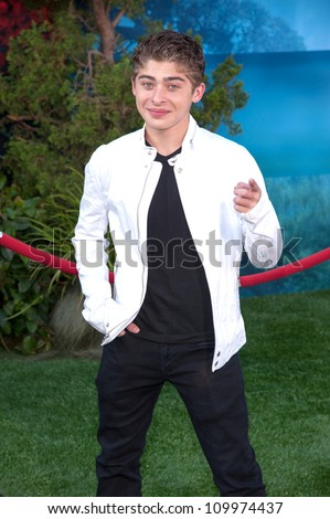 HOLLYWOOD, CA - JUNE 18: Ryan Ochoa arrives at the Los Angeles Film Festival premiere of 'Brave' at Dolby Theatre on June 18, 2012 in Hollywood, California.